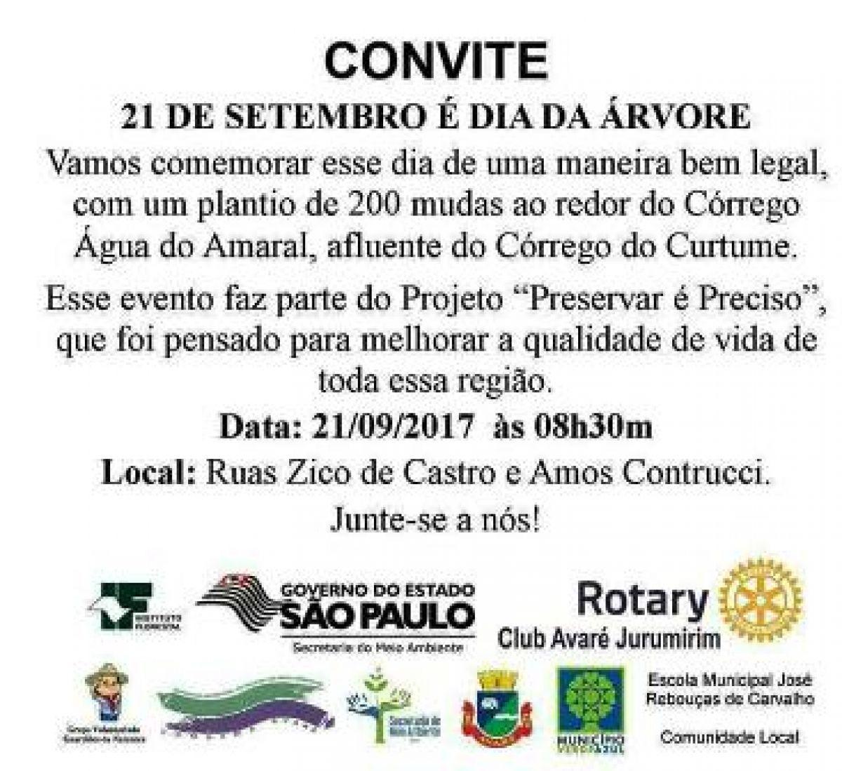 Well-known Jornal O Victoriano de Avaré - Dia da Árvore em Avaré será  WK13