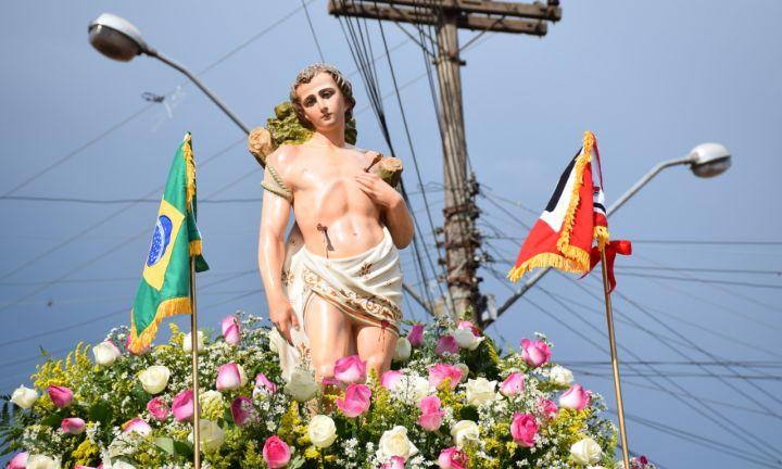 Missa e procissão marcam homenagem da Polícia de Avaré a São Sebastião