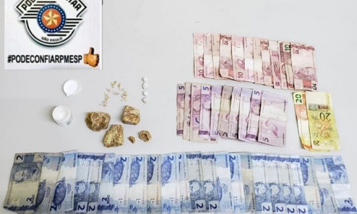 Jovem é preso com 17 porções de crack no Bonsucesso