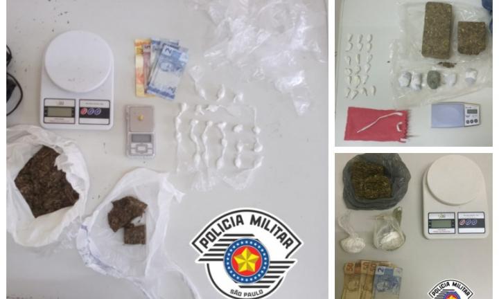 Polícia Militar apreende grandes quantidades de drogas em Avaré