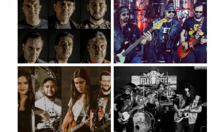 Bandas avareenses farão live em alusão ao Dia Mundial do Rock