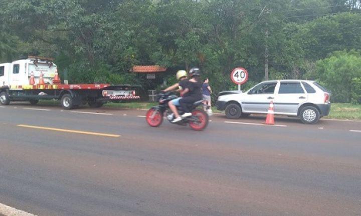 Motoristas fogem após acidente na Rodovia João Mellão em Avaré