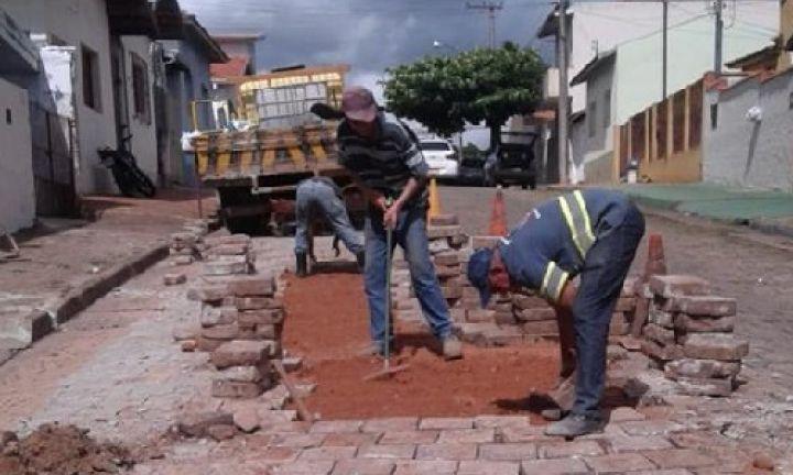 Prefeitura recupera estragos provocados pelas chuvas