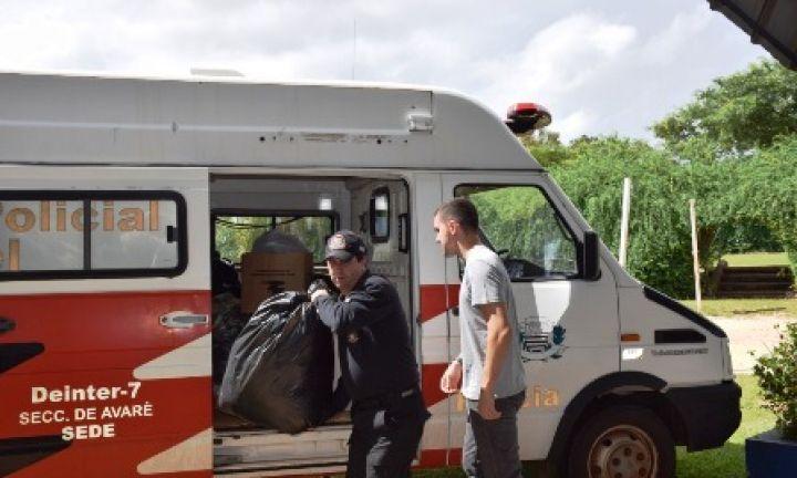 Polícia Civil arrecada roupas para vítimas de Brumadinho