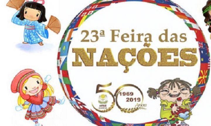 Feira das Nações será nos dias 22, 23 e 24 de novembro