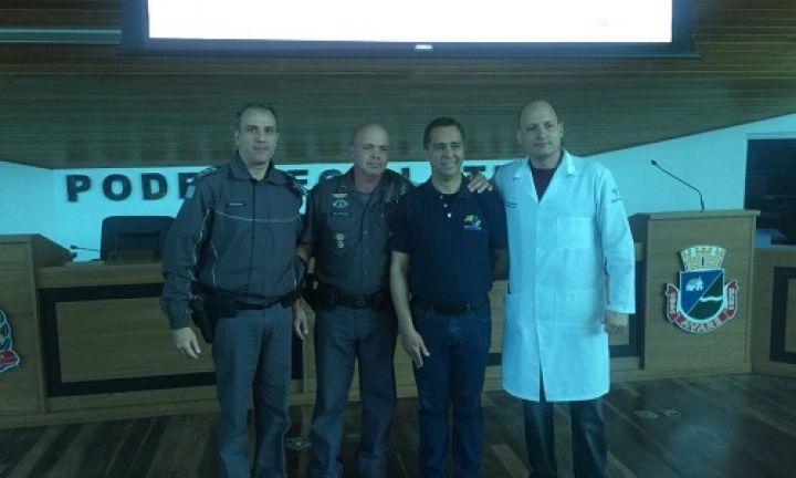 Polícia Militar realiza palestra de prevenção ao suicídio