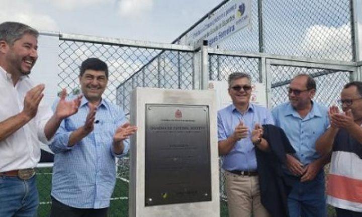 Cidades do interior ganham mais 3 quadras de futebol society
