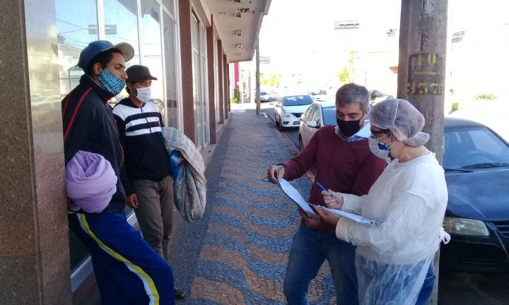 Assistência Social intensifica ações junto à população vulnerável