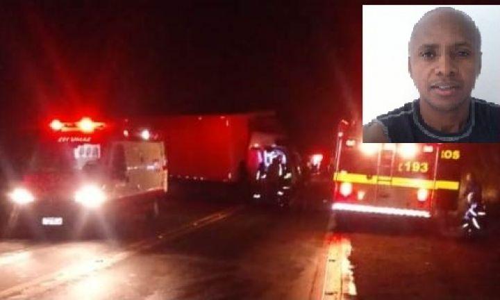 Acidente em estrada de MG mata motorista de empresa avareense