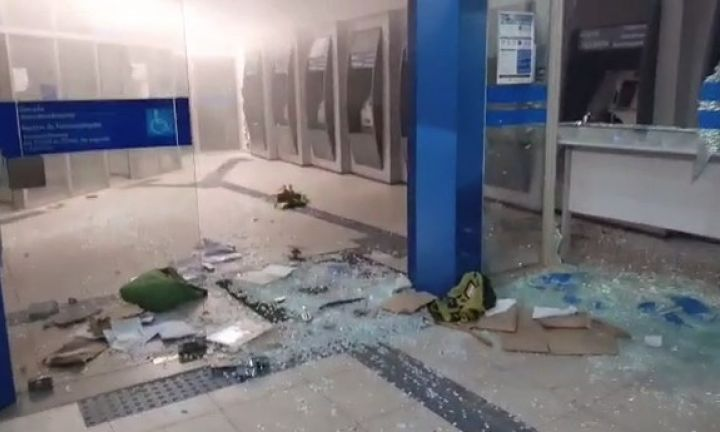Criminosos explodem agência da Caixa Econômica em Taquarituba