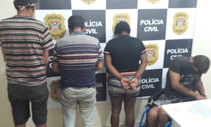 Polícia Civil cumpre mandados e prende quatro suspeitos de roubar e matar idoso