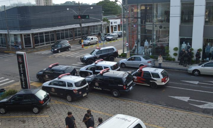 Operação Avalanche da Polícia Civil prende 38 pessoas num só dia