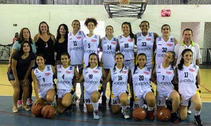 Basquete feminino vai à final dos Jogos Abertos da Juventude