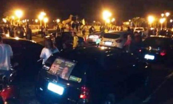 Apoiadores de Bolsonaro realizaram carreata em Avaré