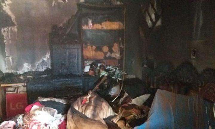 Cachorro morre após inalar fumaça de incêndio que atingiu casa em Avaré