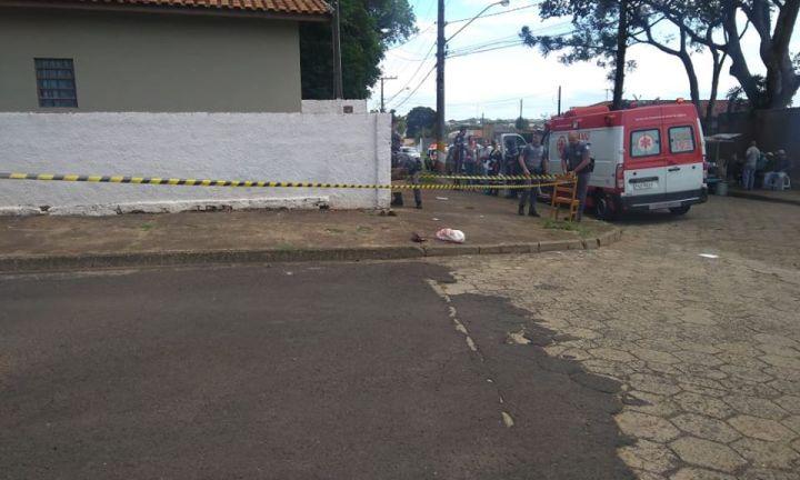 Homem morre com tiro na nuca depois de se desentender com o vizinho