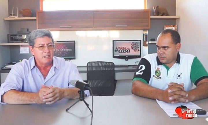 Prefeito de Arandu estende quarentena na cidade até 22 de abril