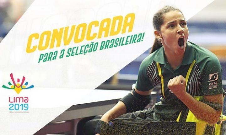 Atleta cerqueirense comemora sua convocação para Seleção Brasileira