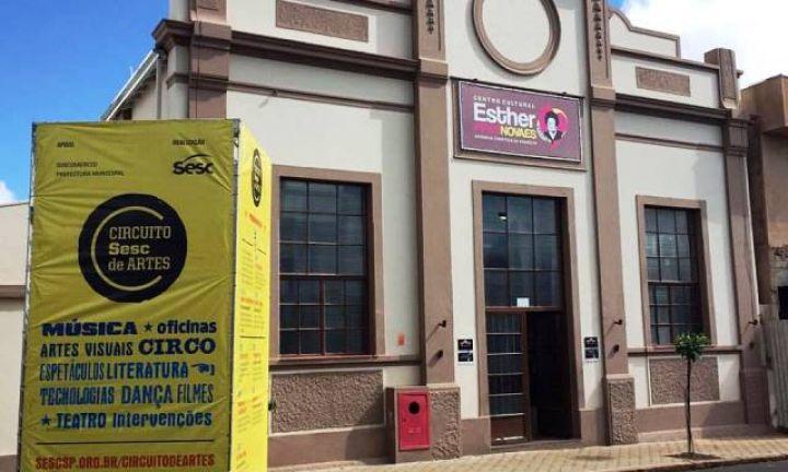Eventos do Sesc de Artes transferidos para o Centro Cultural