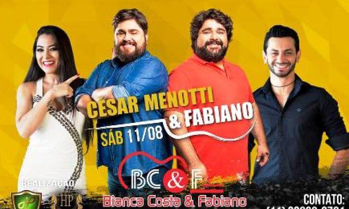 Haras Piedade apresenta show com César Menotti & Fabiano