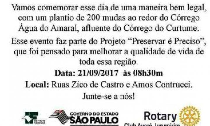 Conhecido Jornal O Victoriano de Avaré - Dia da Árvore em Avaré será  EG12