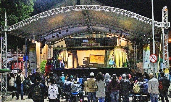 Itaí recebe o espetáculo Teatro a Bordo