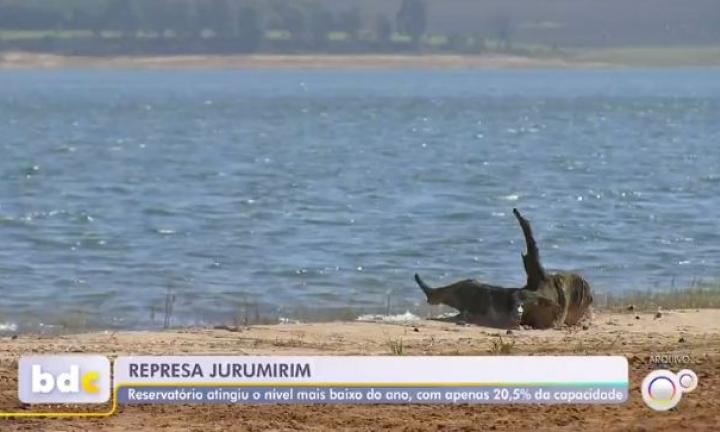Represa de Jurumirim alcança nível mais baixo do ano em Avaré