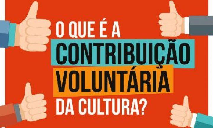 Boleto para Contribuição Voluntária da Cultura começa a ser entregue