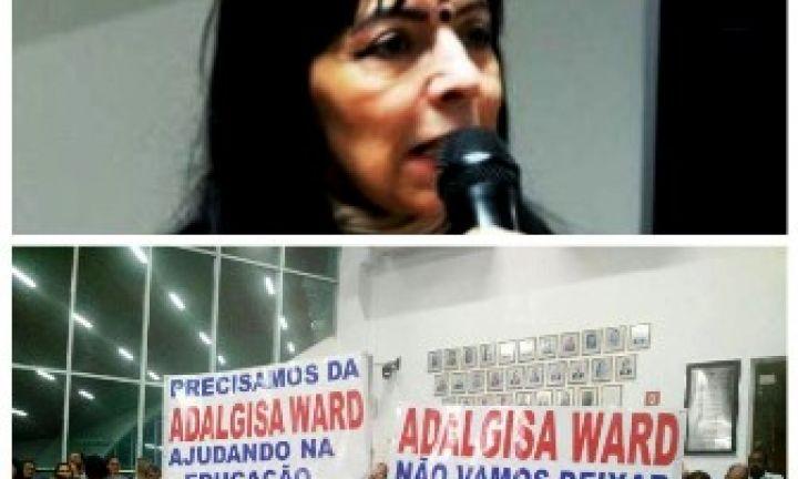 Câmara arquiva denúncia contra vereadora Adalgisa Ward