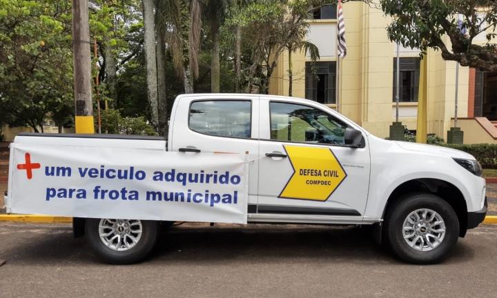 Novo veículo vai reforçar trabalho da Defesa Civil de Avaré