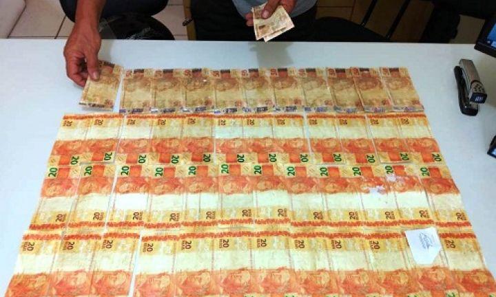 Polícia Civil desmonta esquema de circulação de dinheiro falso no comércio