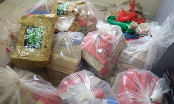 Polícia Rodoviária apreende 200 quilos de maconha em Avaré