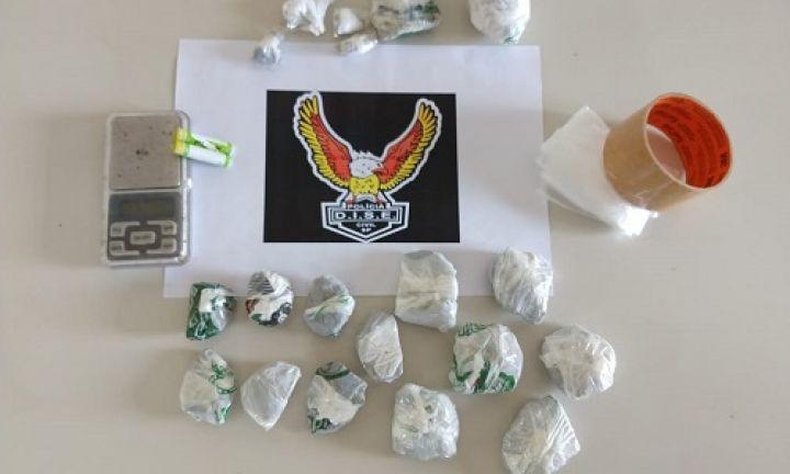 DISE prende homem por tráfico de drogas na Vila Martins II