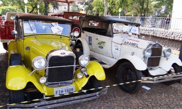12º Encontro de Veículos Antigos acontece no dia 6 de agosto
