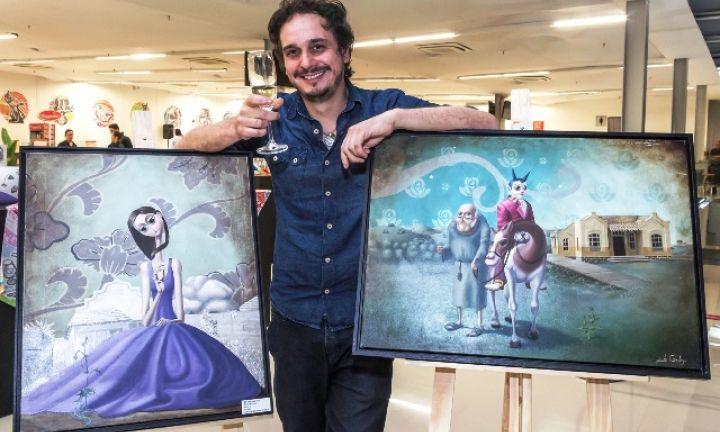 Avareense Edu Cardoso expõe em São Paulo