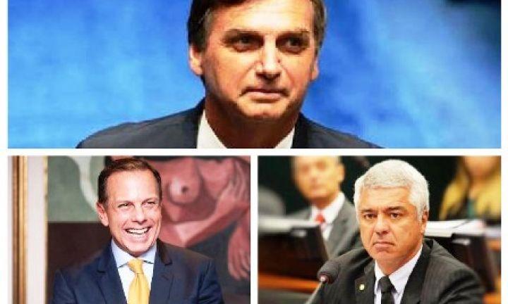 Avareenses escolhem Bolsonaro, Dória e Major Olímpio