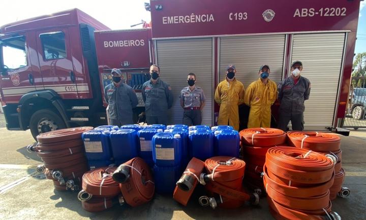 Prefeitura de Avaré adquire equipamentos para o Corpo de Bombeiros