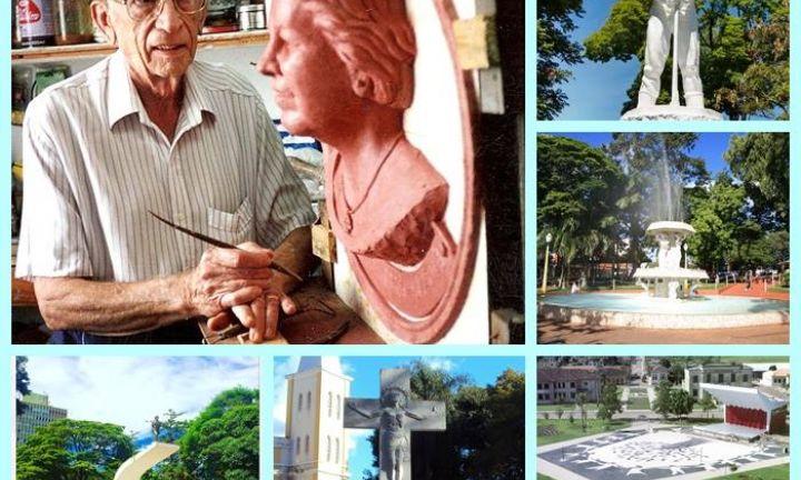 Nas esculturas de Mazzola, expressões de arte e fé