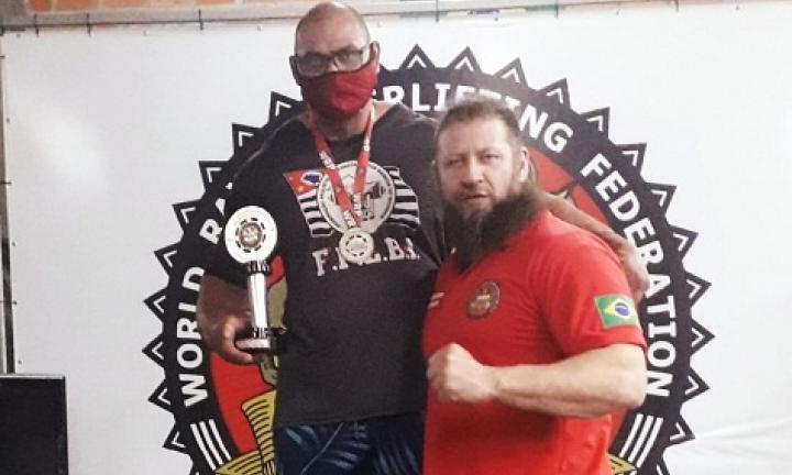 Atleta de Avaré vence campeonato de supino no Paraná