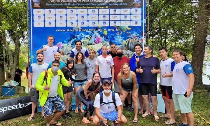 Equipe avareense de natação é destaque em maratona aquática