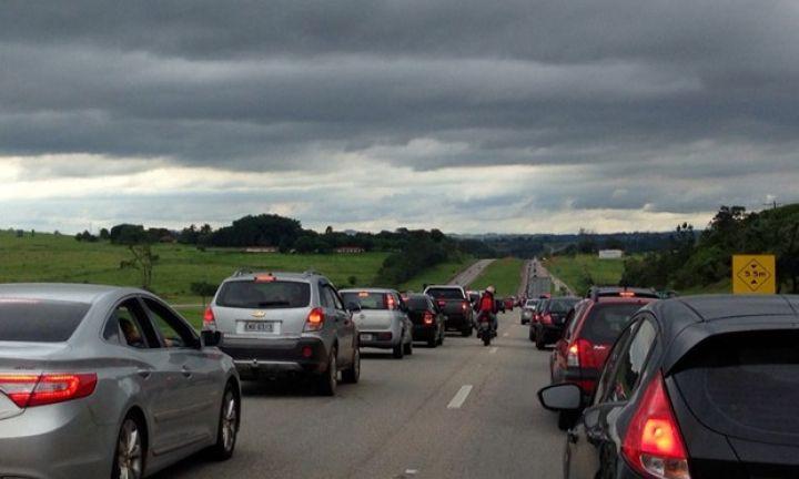 Feriado teve tráfego de mais de 41 mil veículos na João Mellão