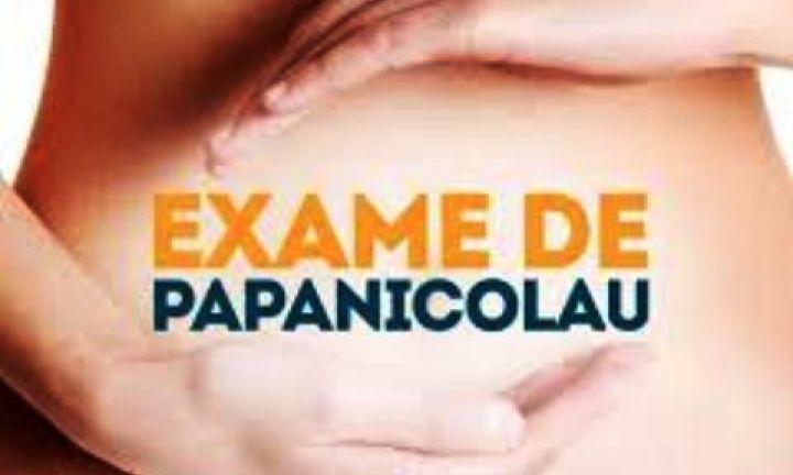 Exame de Papanicolau acontece no dia 21
