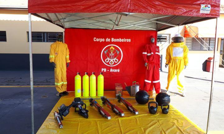 Bombeiros apresentam novos equipamentos avaliados em mais de meio milhão de reais