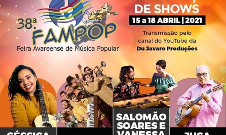 Feira Avareense da Música Popular será realizada de 15 a 18 de abril