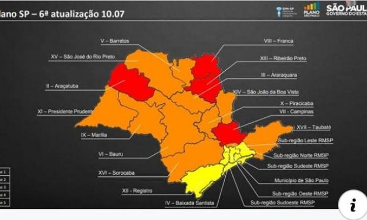 Região de Avaré avança para fase laranja do Plano SP de flexibilização