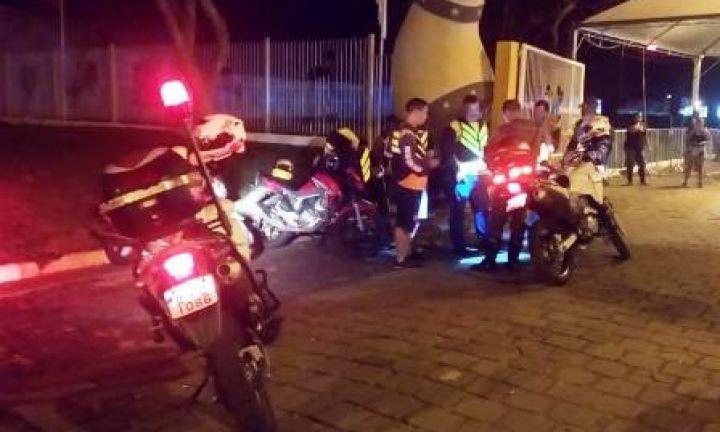 PM intensifica fiscalização de mototaxistas durante a EMAPA