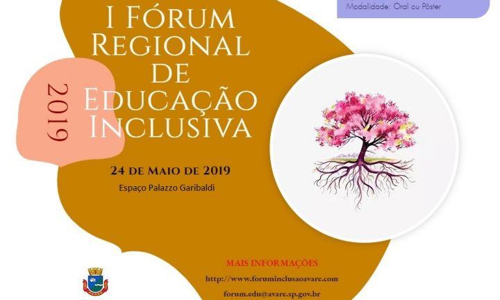 Fórum Regional de Educação será realizado em Avaré