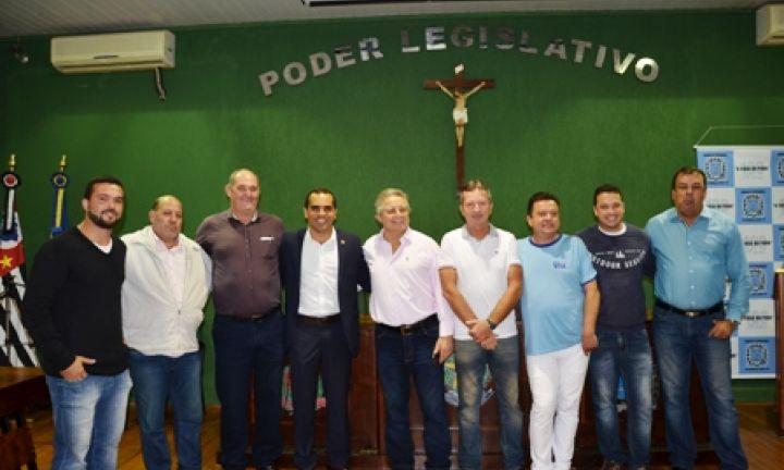 Vereadores recepcionam superintendente da Funasa