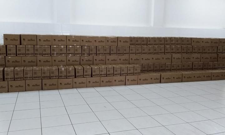 Sabesp e órgão estadual doam 1600 cestas básicas para o Fundo Social