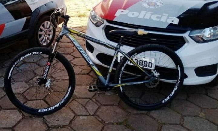 Polícia Militar prende autor de furto de bicicleta de estabelecimento comercial